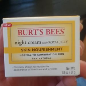 Burts bees night cream
